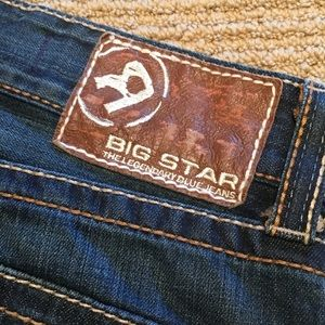 BIG STAR, Pioneer Boot Jean Men's Size33R
